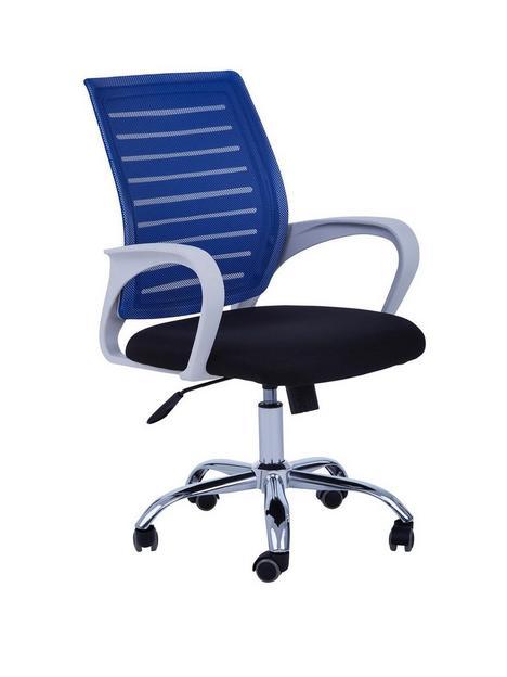 premier-housewares-jameson-office-chair--blue