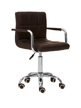 premier-housewares-helena-office-chair--black