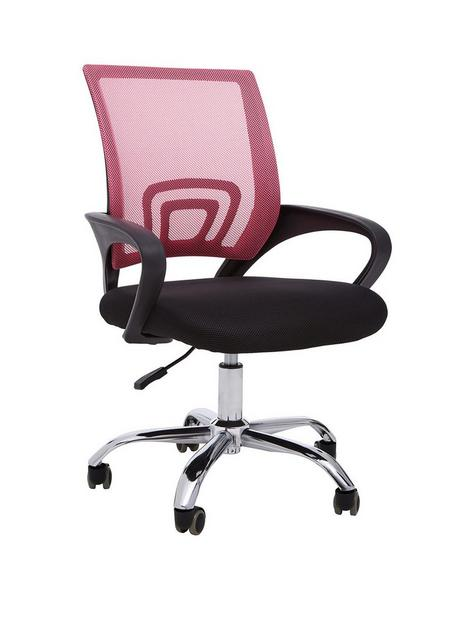 premier-housewares-maurice-office-chair--pink