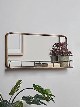 cox-cox-bronzed-mirror-shelf
