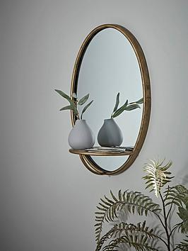 cox-cox-burnished-gold-shelf-mirror