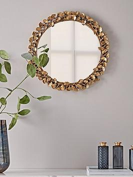 cox-cox-gilded-leaves-mirror