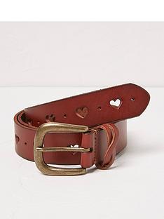 fatface-heart-cut-out-leather-belt