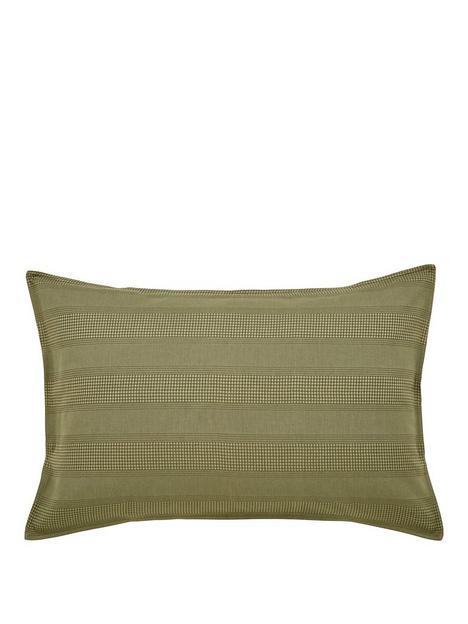 dkny-avenue-stripe-standard-pillowcase-olive