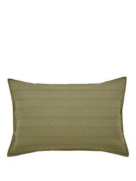 Dkny Avenue Stripe Standard Pillowcase - Olive