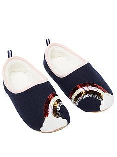 joules-rainbow-slippet-slippers-navy