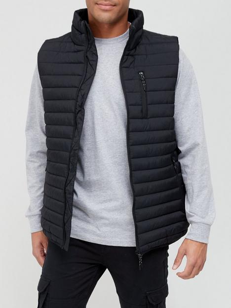 very-man-lightweight-padded-gilet-black