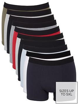very-man-plain-trunks-10-pack-multi