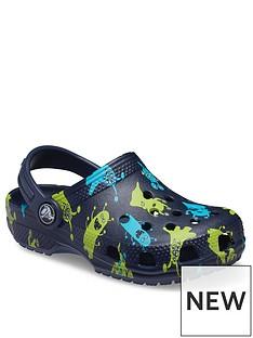 crocs-boysnbspmonster-clog-sandals-navy