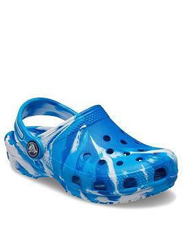 crocs-marble-clog-sandals-bluewhite