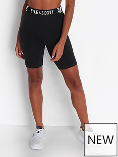lyle-scott-cycling-short-black