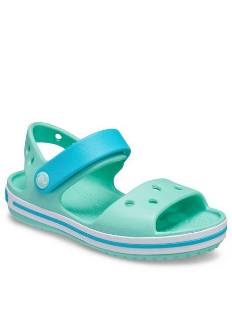 crocs-girlsnbspcrocband-sandals-green