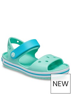 crocs-girlsnbspcrocband-sandals-green