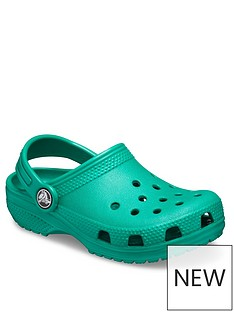 crocs-girlsnbspclassic-clog-sandals-green