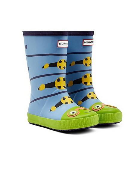 hunter-kids-caterpillar-wellington-boot