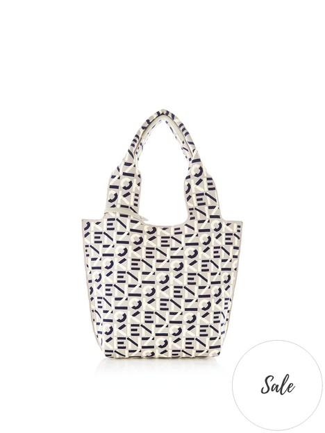 kenzo-small-monogram-tote-bag-grey