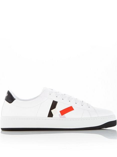 kenzo-kourt-lace-up-sneakers-white