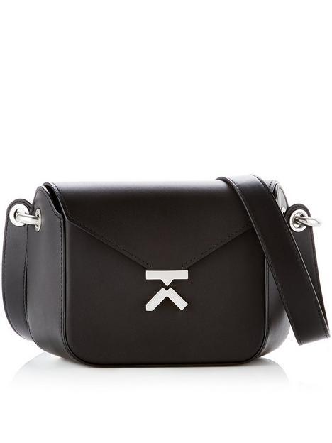 kenzo-k-smallnbspleathernbspcross-body-bag-black