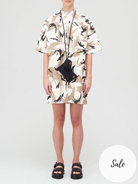 kenzo-tropic-camo-shirt-dress-multi