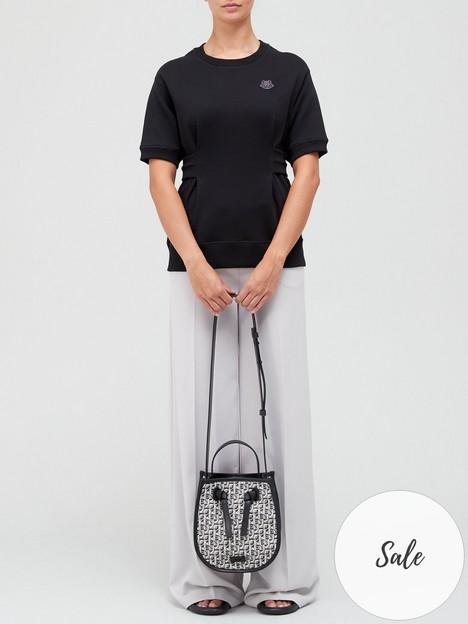 kenzo-tiger-crest-waisted-sweatshirt-black