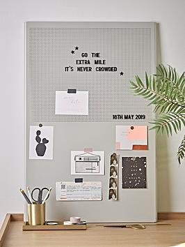 cox-cox-grey-metal-letter-board