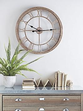 cox-cox-weathered-wood-cut-out-clock