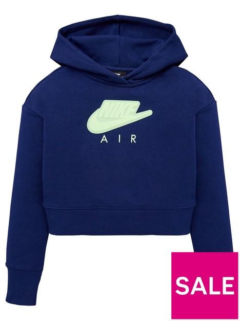 nike-girls-nswnbspair-french-terry-crop-hoodie-blue