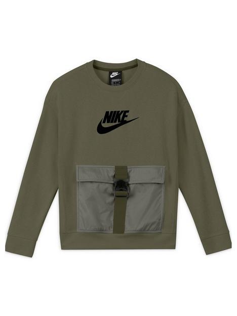 nike-boys-nsw-rtl-utility-fleece-top