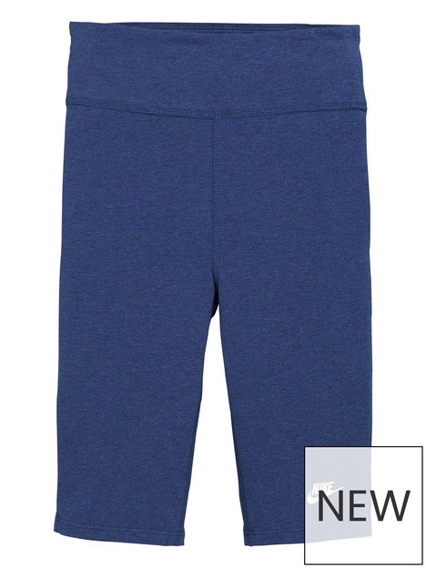 nike-girls-nsw-bike-9-inch-short-blue
