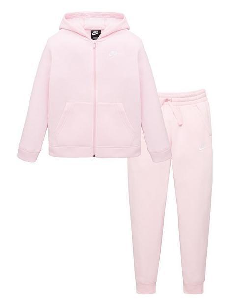 nike-childrensnbspnswnbspcore-tracksuit-pink