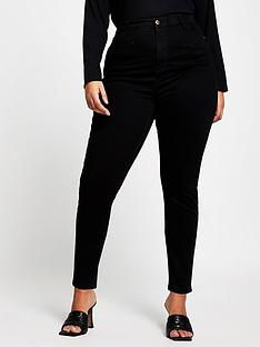 ri-plus-high-waist-skinny-jean-black