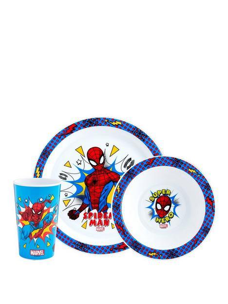 spiderman-pop-3-piece-tableware-set