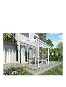 Canopia By Palram Sierra Patio Cover 3X3.05 - White/Clear