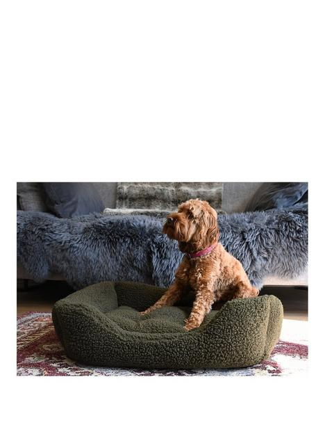 rosewood-green-pile-fleece-bed-lge