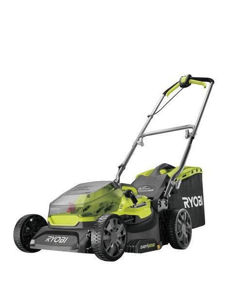 ryobi-ry18lmx37a-0-18v-one-cordless-brushless-37cm-lawnmower-bare-tool