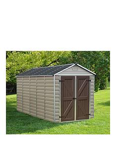 palram-skylight-shed-6x12-tan