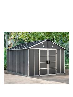 palram-yukon-11x131-dark-grey-shed