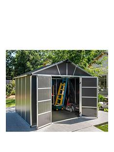 palram-yukon-11x9-dark-grey-shed