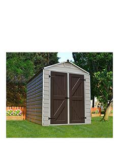 palram-skylight-shed-6x8-tan