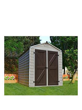 Canopia By Palram Skylight Shed 6X8 Tan