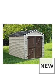 palram-skylight-shed-6x10-tan