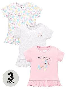 mini-v-by-very-baby-girls-3-pack-daddy-short-sleeve-tees-multi