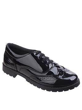 hush-puppies-eadie-leather-back-to-schoolnbspbrogue-shoe-black