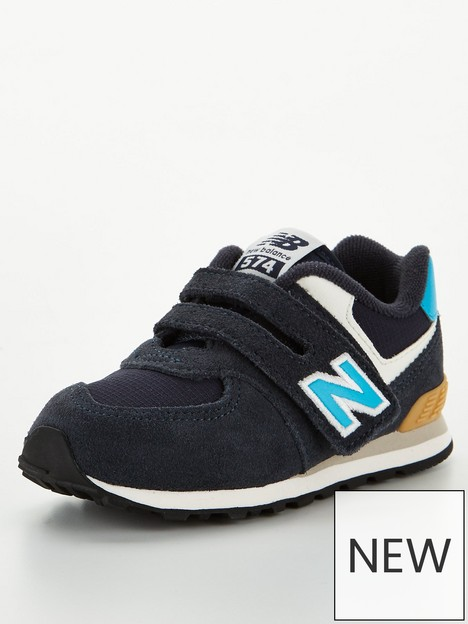 new-balance-infant-boys-velcro-574-trainers-blue