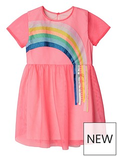 billieblush-girls-short-sleeve-shimmer-layer-dress-fuschia