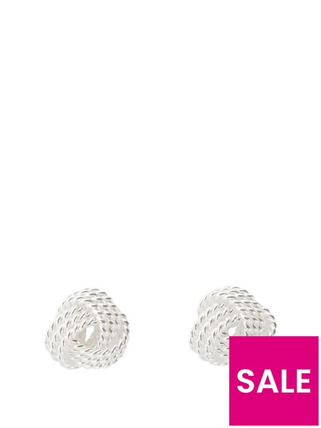 the-love-silver-collection-knot-studs