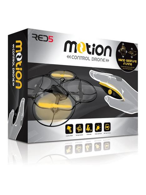 motion-control-drone-yellow