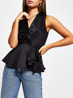 river-island-sleeveless-blouse-black