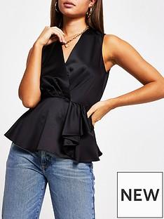 river-island-sleeveless-blouse-black