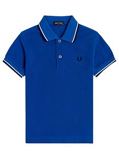 fred-perry-boys-twin-tipped-short-sleeve-polo-mid-blue
